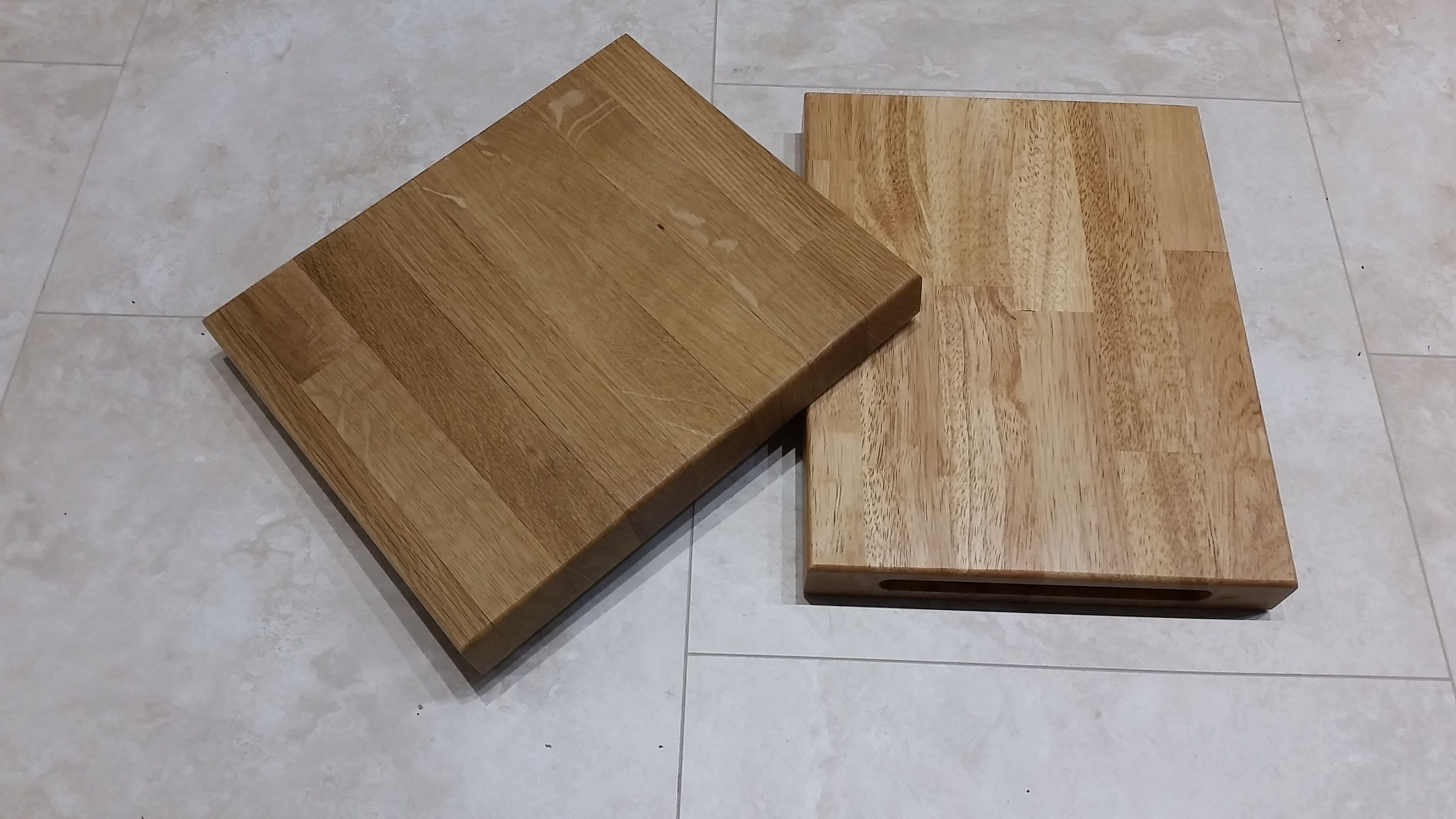 Solid Oak Or Rubber Wood Chopping