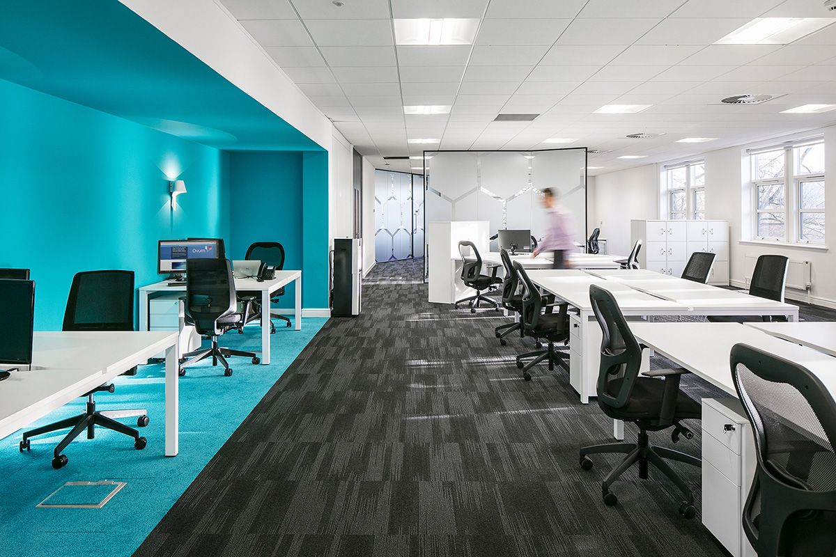 A Peek Inside Blue Prism S Manchester Office Minimal Office Design Interior Design Firms Office Design