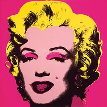 Andy does M   pretty in pink   Pinterest   The 1960s, Pop art and ...