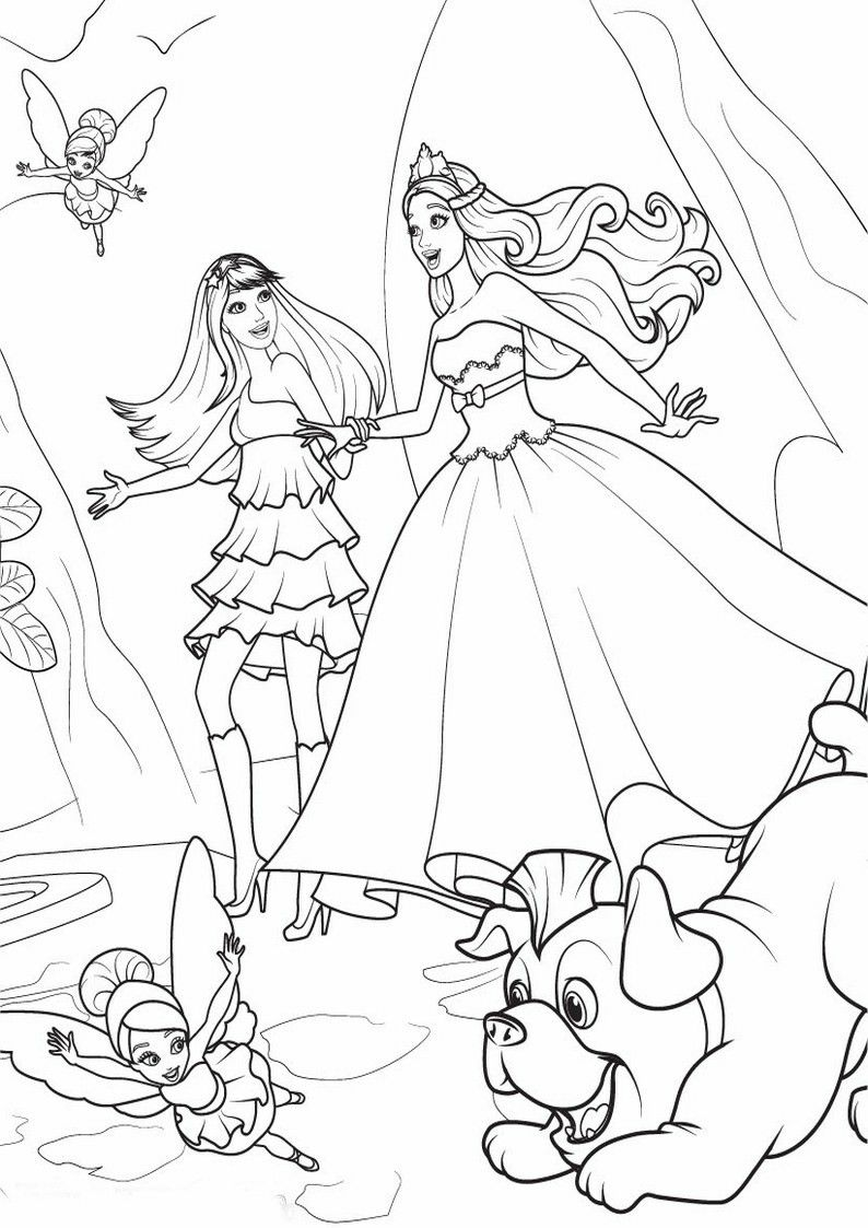 Pin By Renata On Barbie Coloring Coloring Pages Barbie Coloring Pages Barbie Princess