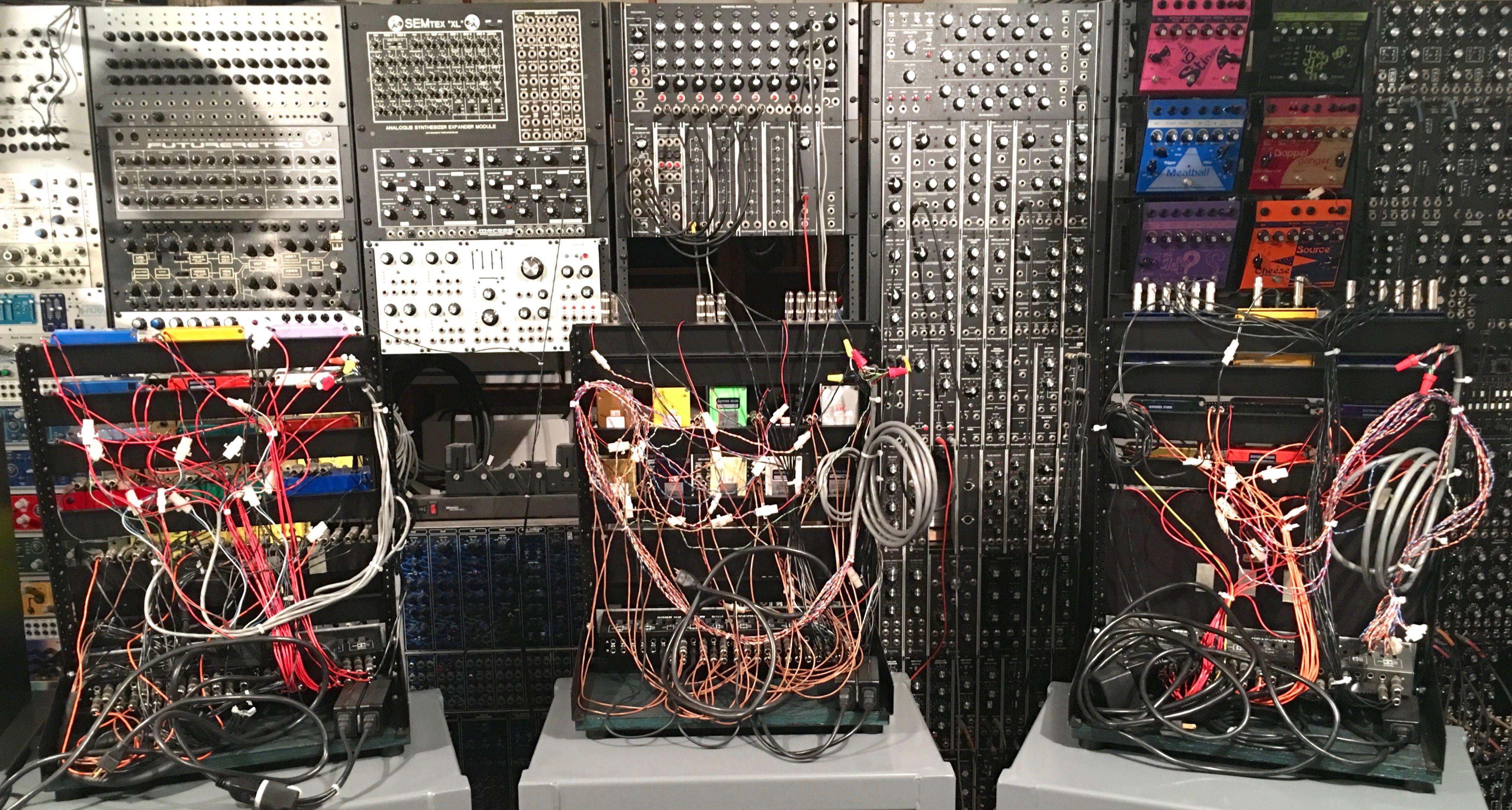 Back of FX racks