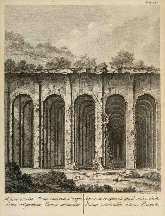 Piscina Mirabilis, Naples, Italy Ruinas, Arte, Disenos