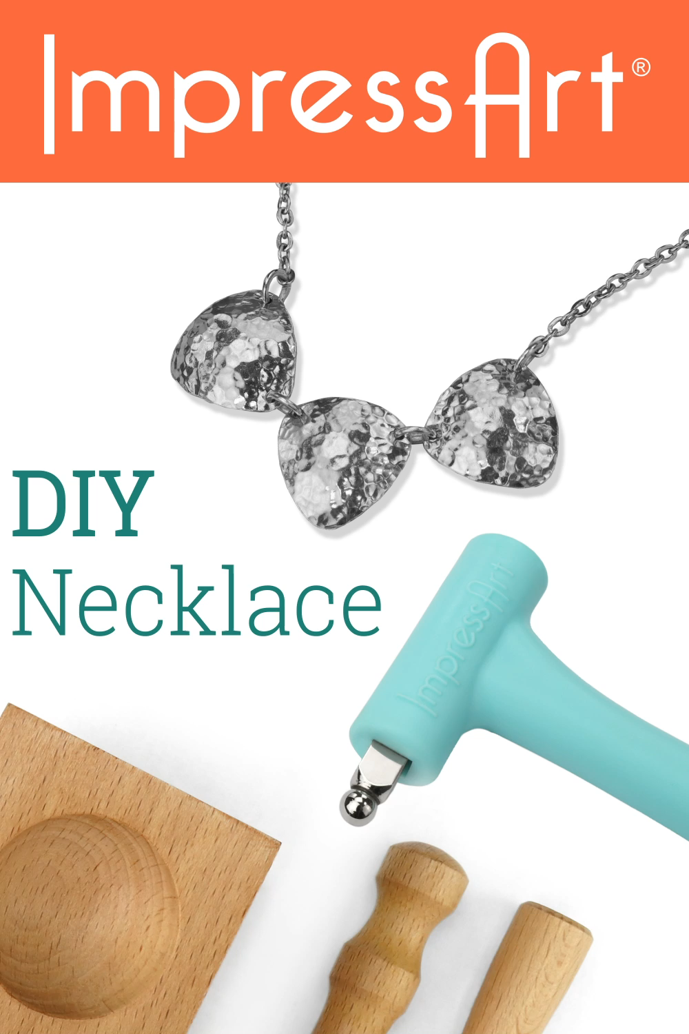 Photo of DIY Necklace Tutorial | ImpressArt Metal Stamping Projects