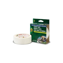 Duck Brand Indoor Outdoor Double Sided Carpet Tape 1 41 X 42 Ft