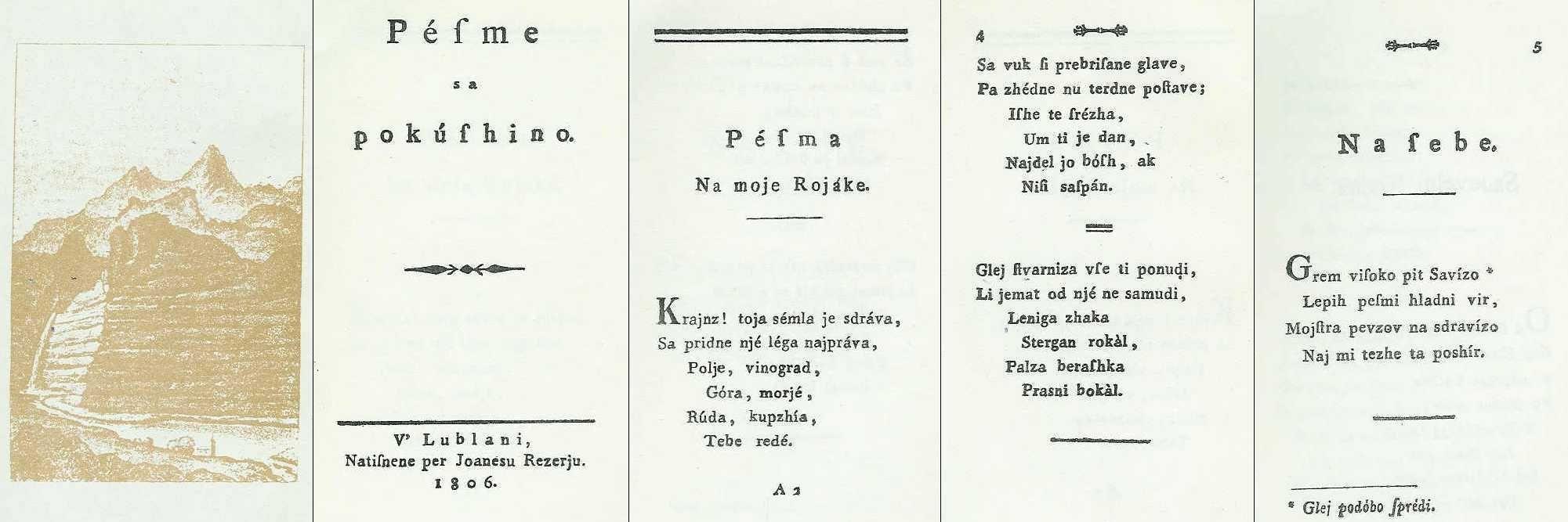 Valentin Vodnik's poetry #ValentinVodnik #Slovenia #SloveniaHistory #SloveniaCulture #visitSlovenia #Culture #poet