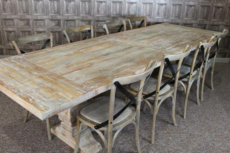 X Frame Farmhouse Table Whitewash   Google Search