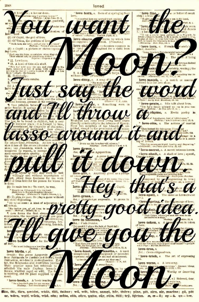 Lasso the Moon It\'s a Wonderful Life Quote by reimaginationprints ...