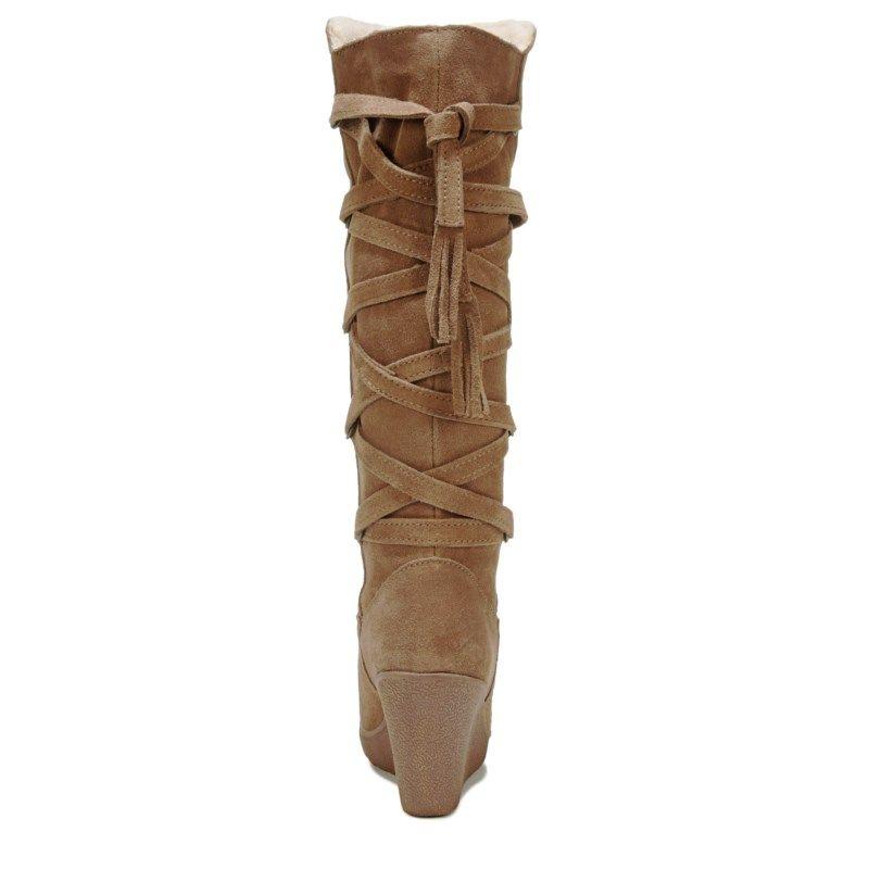 e8832e71b0f Bearpaw Women s Britney Wedge Boots (Hickory)