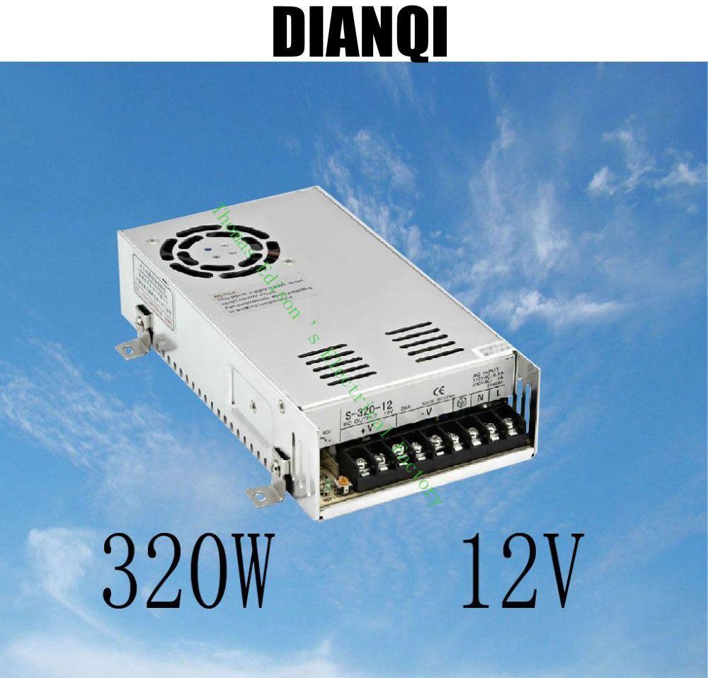 led power supply switch 320W 12v 25A ac dc converter 12v