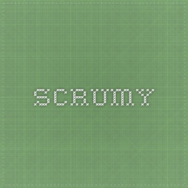 Scrumy, projektinhallintatyökalu