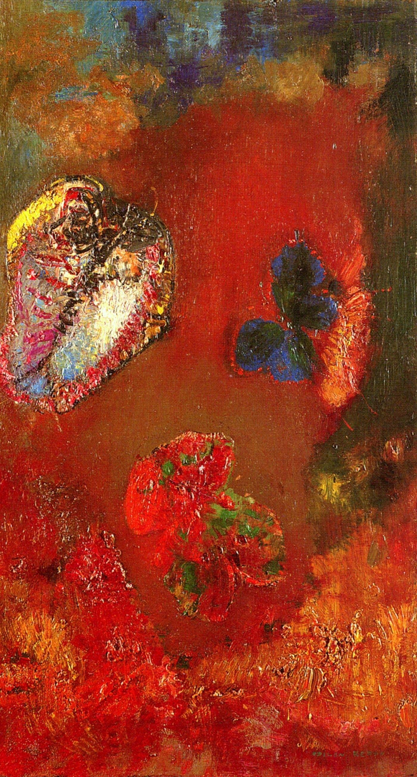 Odilon Redon painting symbolism symbolist Odilon