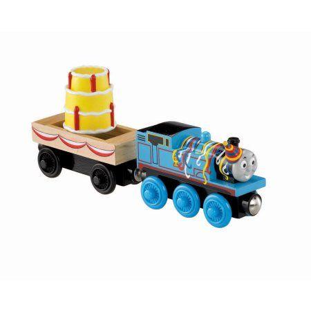 Fisher Price Thomas ; Friends Wooden Railway Happy Birthday, Multicolor