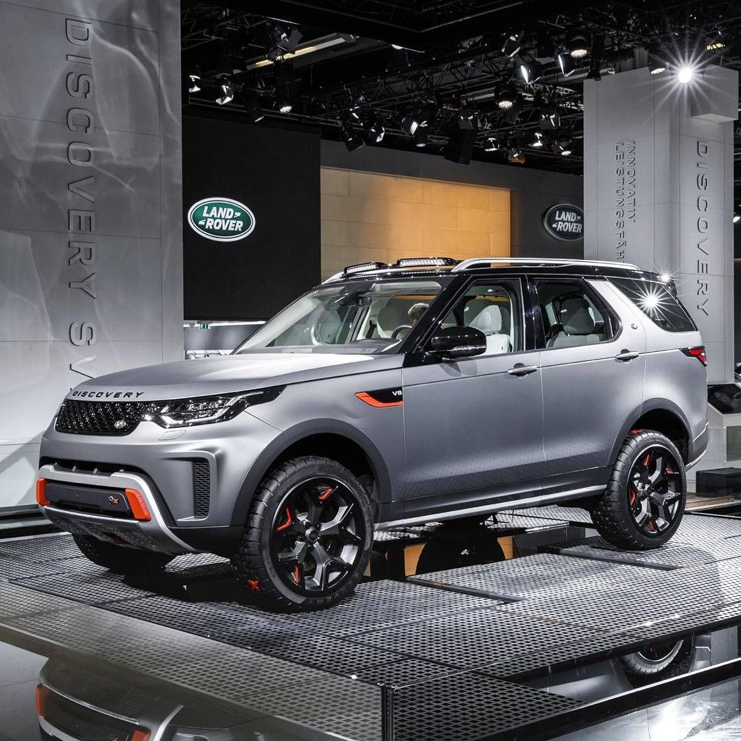 Land Rover Discovery SVX 2018 O novo Land Rover Discovery