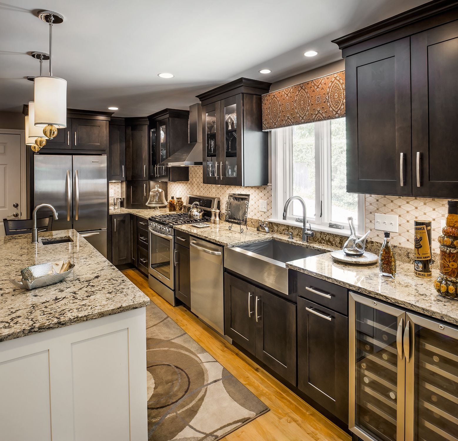 The Perfect Kitchen For Someone Who Loves To Entertain Featuring A