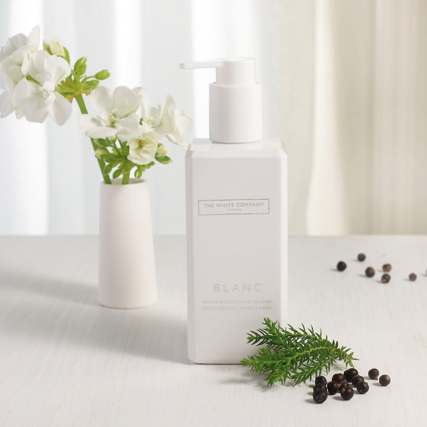 Buy Candles & Fragrance > Bath & Body > Blanc Hand & Nail Cream from The White Company