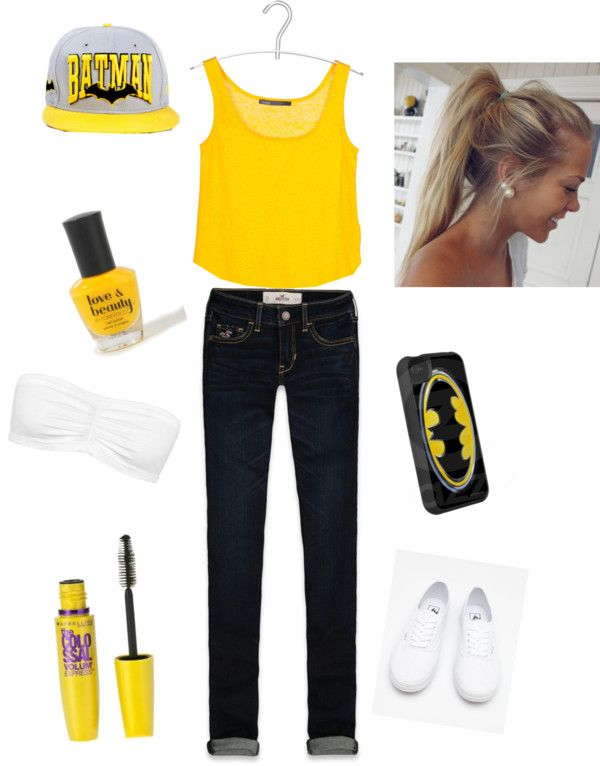 """batman girl"" by ilovejustinbieber166 on Polyvore"
