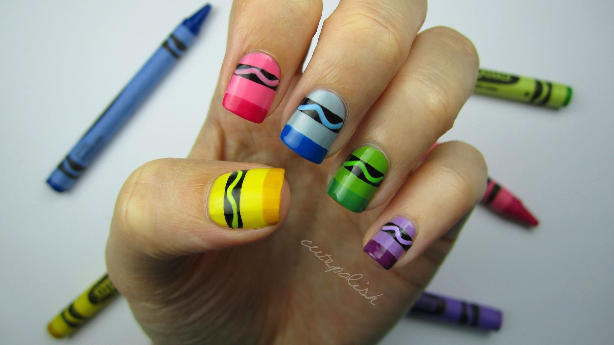 Crayon nails youtubewatchvudeniricpqkwusnsudem get