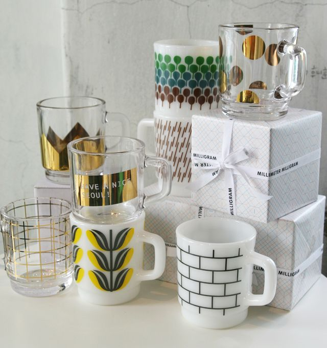These mugs are so great. If only they didn't live in Korea. Via Sally J Shim