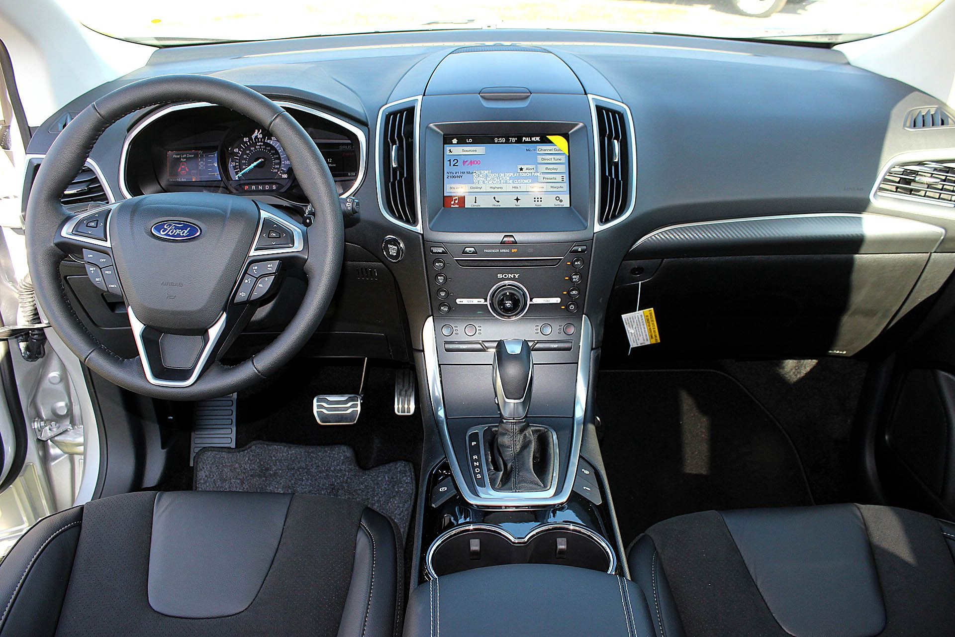 2016 Ford Edge Interior Options Ford Edge Ford New Ford Edge