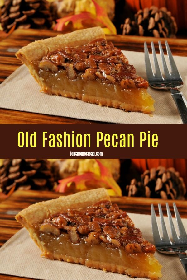 Pecan Pie Recipe with No Corn Syrup Recipe.  Old Fashion Pecan Pie Recipe from King Arthur Flour, this traditional pecan pie uses no corn syrup. The filling is silky smooth, and the pecans on top toast nicely as the pie bakes. #pecanpie #thanksgiving #dessert #pecanpie