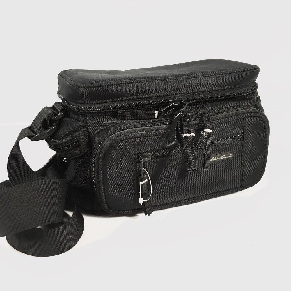 beef732ebcdd Eddie Bauer Padded Camera Bag Camcorder Case Adjustable Shoulder ...