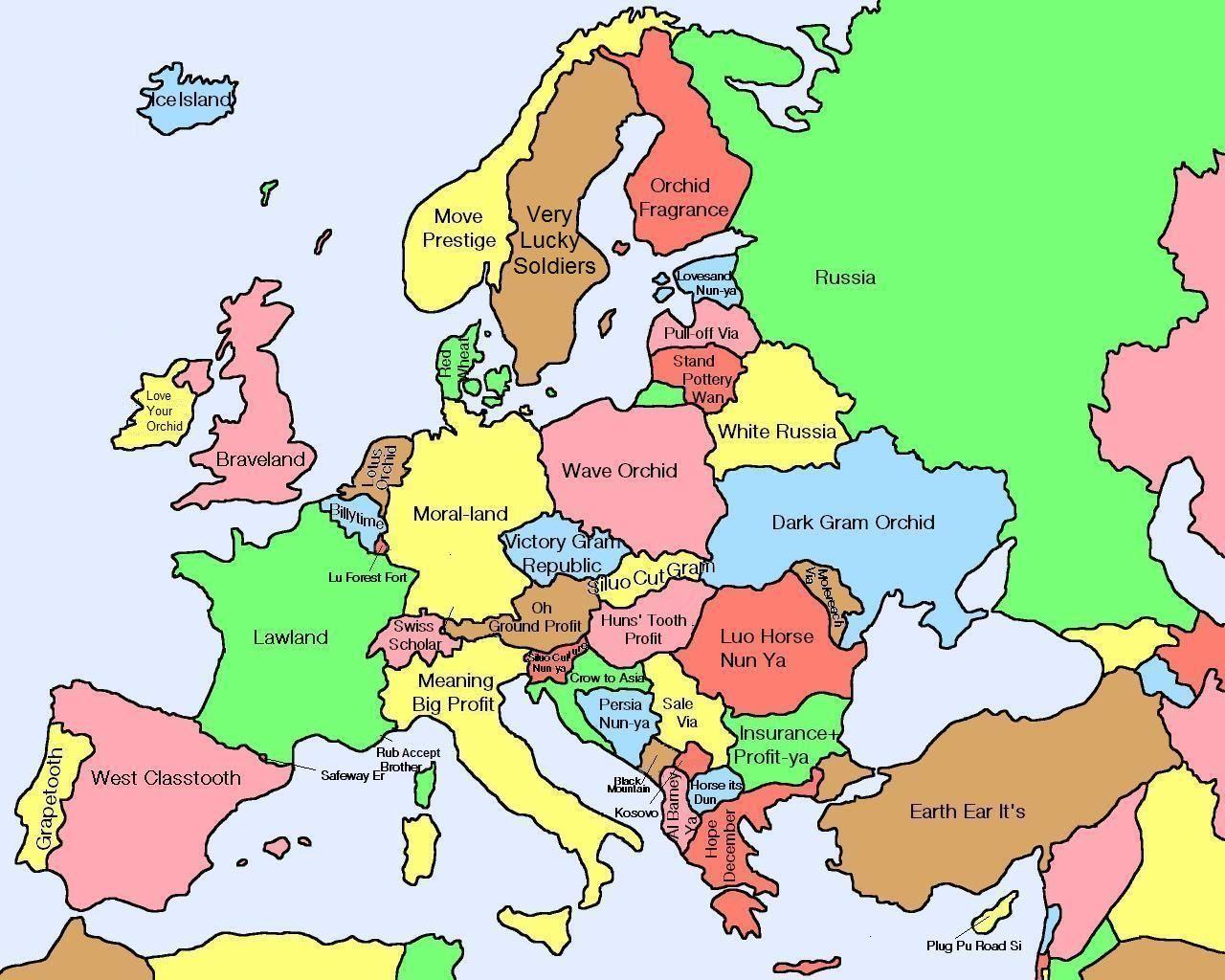 diese karte zeigt was chinesische namen f r europ ische l nder bersetzt bedeuten european. Black Bedroom Furniture Sets. Home Design Ideas