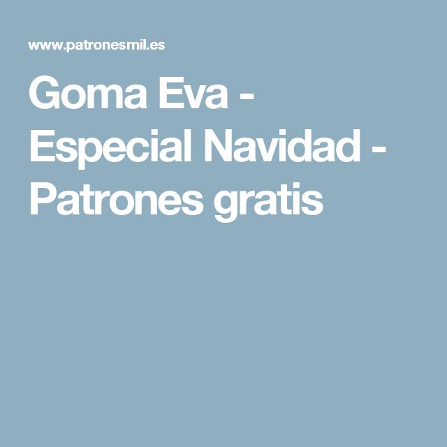 Goma Eva - Especial Navidad  c36f0ff6642