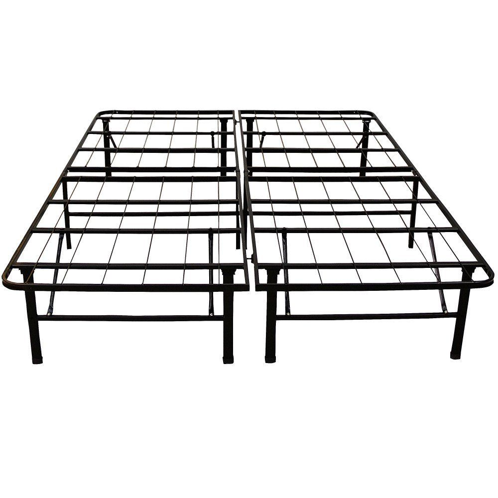 Amazon Com Classic Brands Hercules Heavy Duty 14 Inch Platform Metal Bed Frame Mattre Metal Platform Bed Full Size Metal Bed Frame King Size Metal Bed Frame