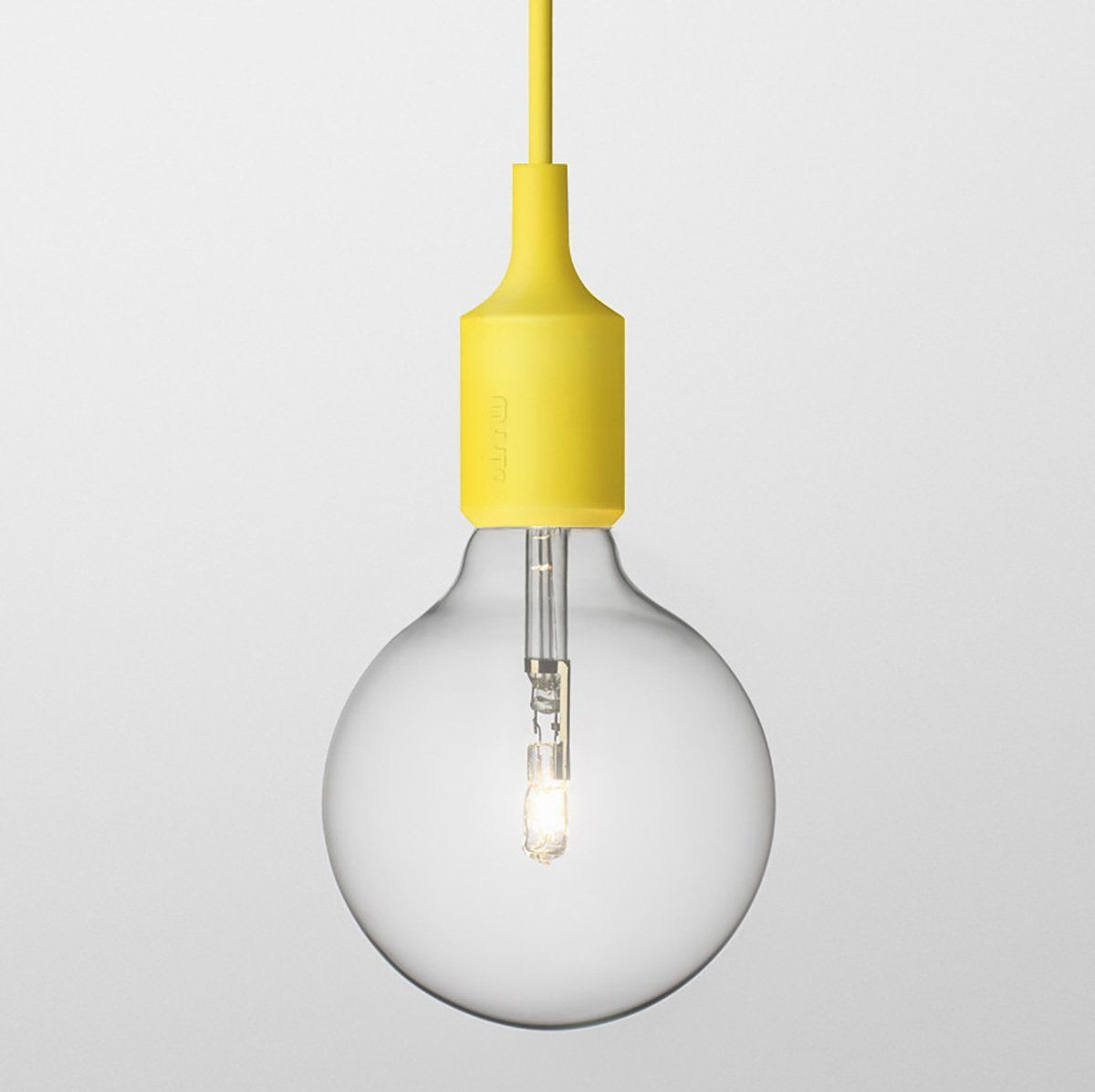Muuto E Halogen Pendant Light Yellow Lighting Pendant Lamps