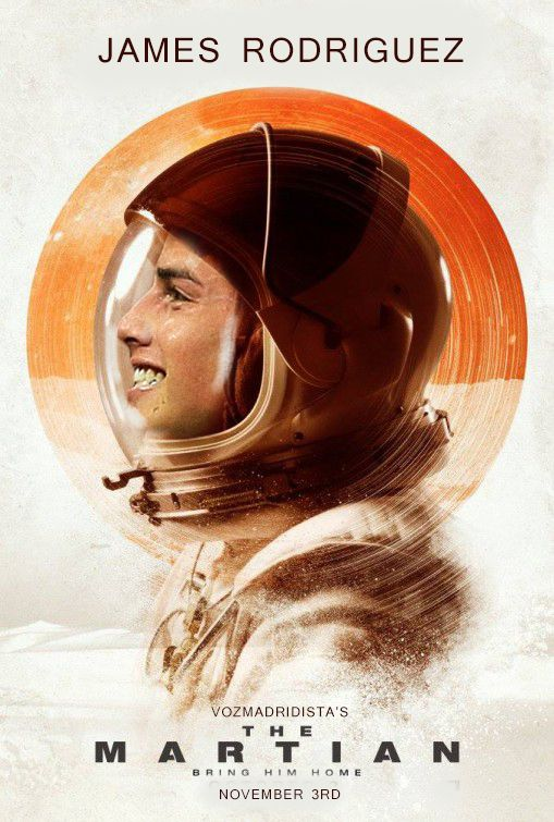 James Rodriguez The Martian Bring Him Home Posters