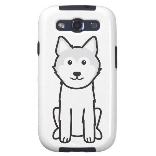 Icelandic Sheepdog Dog Cartoon Samsung Galaxy SIII Cases