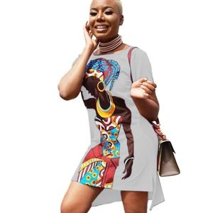 Fashion Design Casual Clothing African Print Dress #africanprintdresses