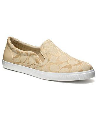 COACH ALEGRA SLIP-ON SNEAKER - Coach Shoes - Handbags & Accessories - Macys