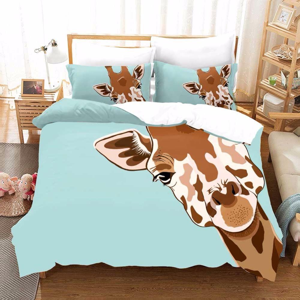 Giraffe Bed Sheets Giraffe Bedding Giraffe Duvet Cover Luxury