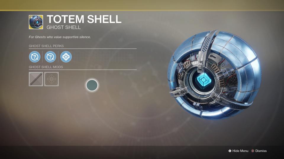 Probably The Best Ghost Shell This Season Destiny2 Ghost In The Shell Ghost Destiny Game