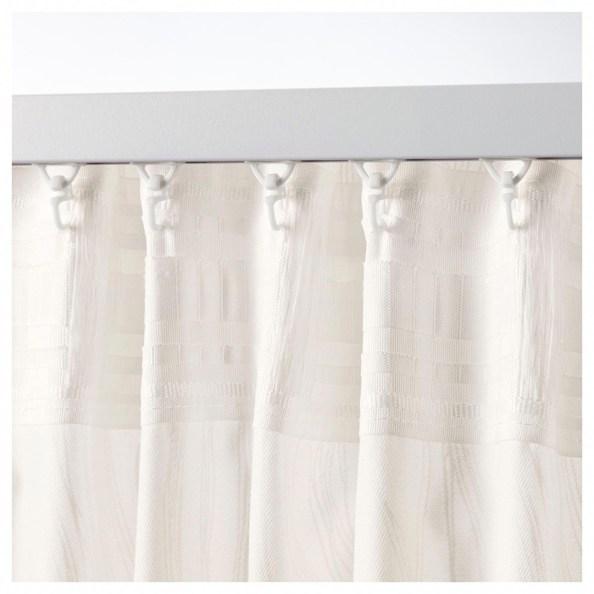 Ikea Mildrid Curtains 1 Pair White White Rusticstyle Guest