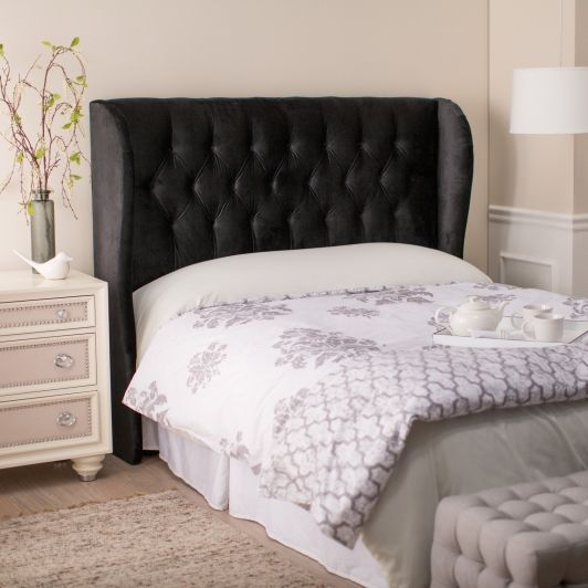 Ordinaire Skyline Tufted Wingback Headboard   Sizes:Queen Headboard: X X In.King  Headboard: X X In.About Skyline Furniture Manufacturing Inc.Skyline  Furniture Was ...