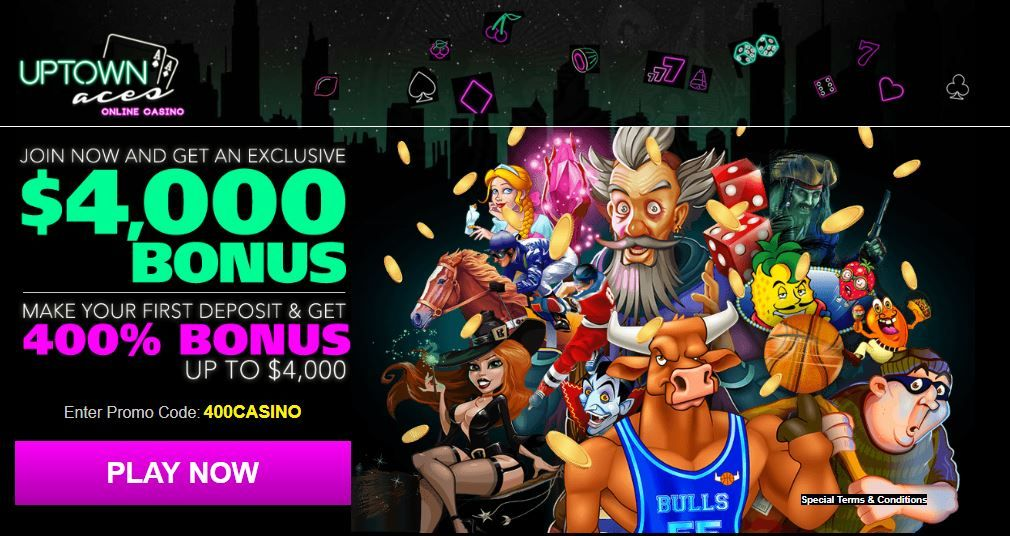 Uptown Aces Free Spins 2021