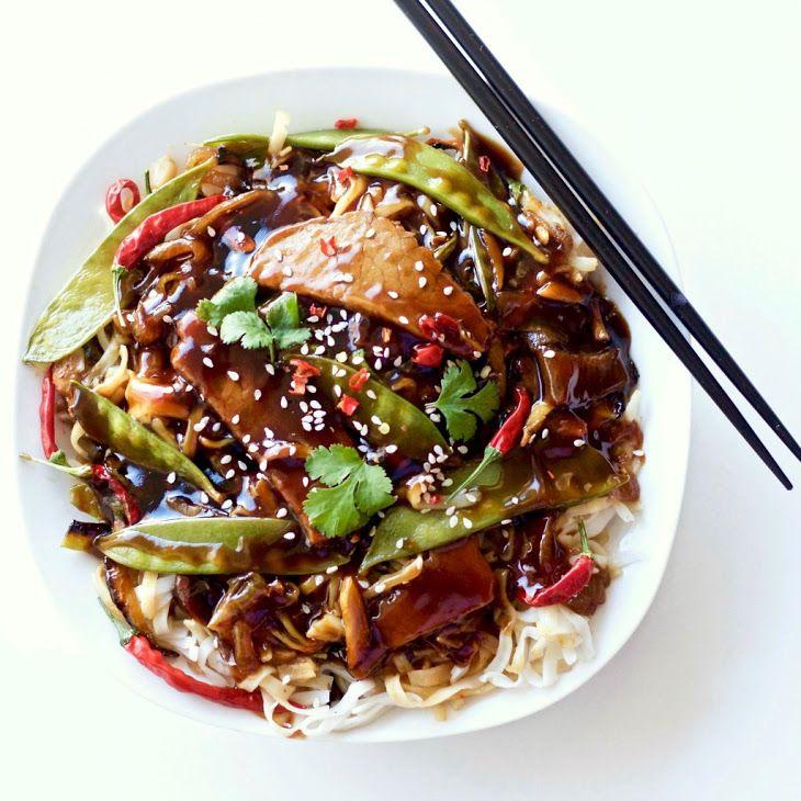 Leftover Roast beef Thai noodle dinner | Recipe | Sesame ...