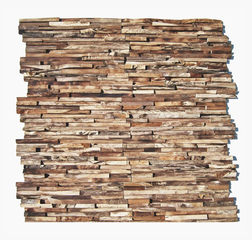 3d Holz Wandverkleidung Ho 006 Teak Edelholz Wand Verblender Riemchen Wurzelholz Altholz Wand Wandverkleidung Verblender