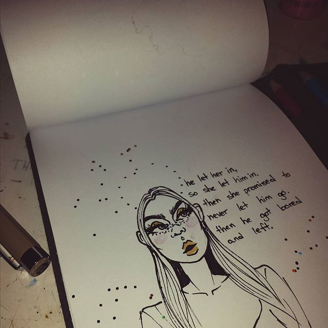 Aesthetic art feed artsy art hoe quotes inspirational for Art inspiration ideas tumblr