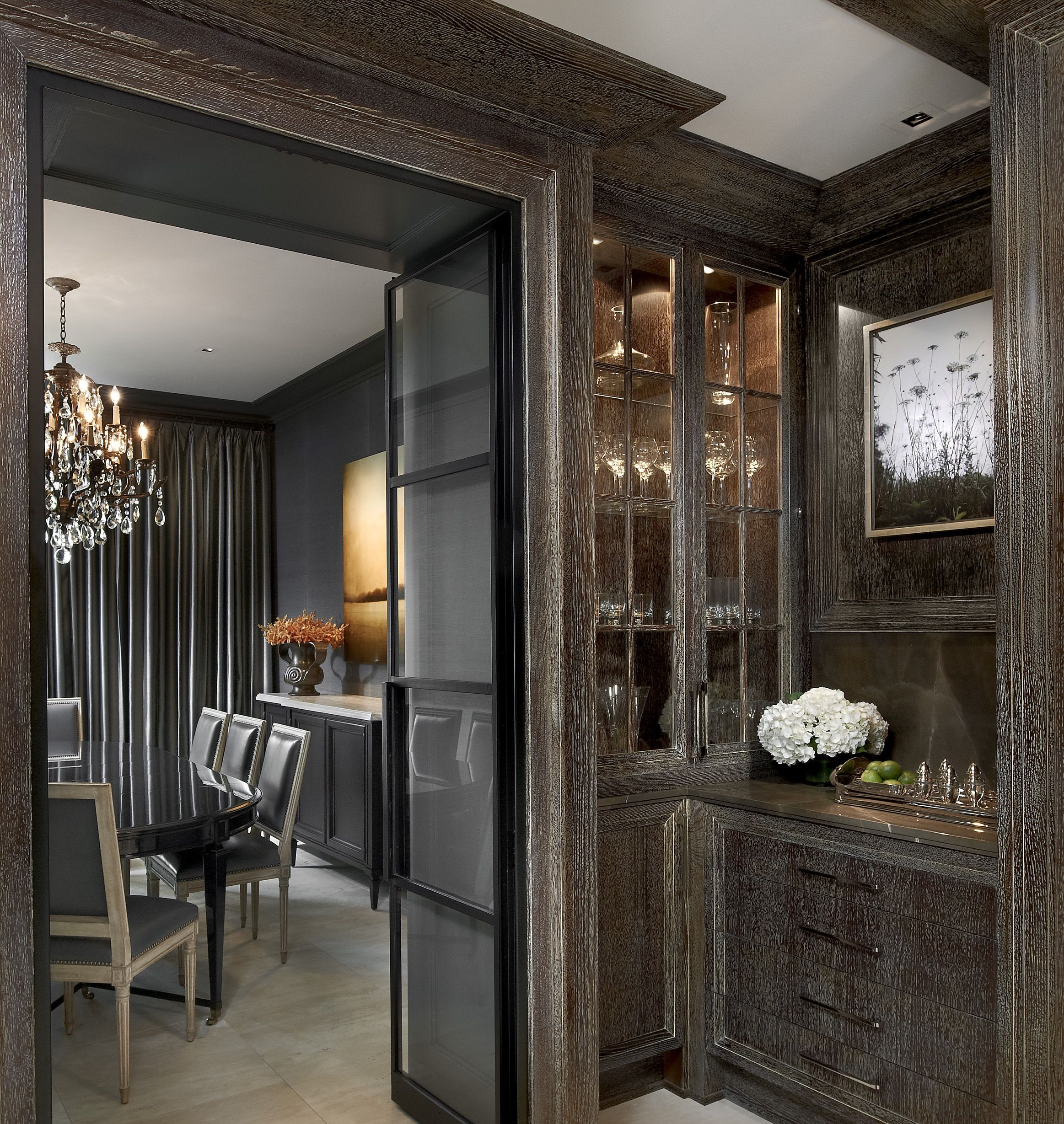 126 Custom Luxury Dining Room Interior Designs: Inside A Chicago Penthouse With Custom Finishes (With