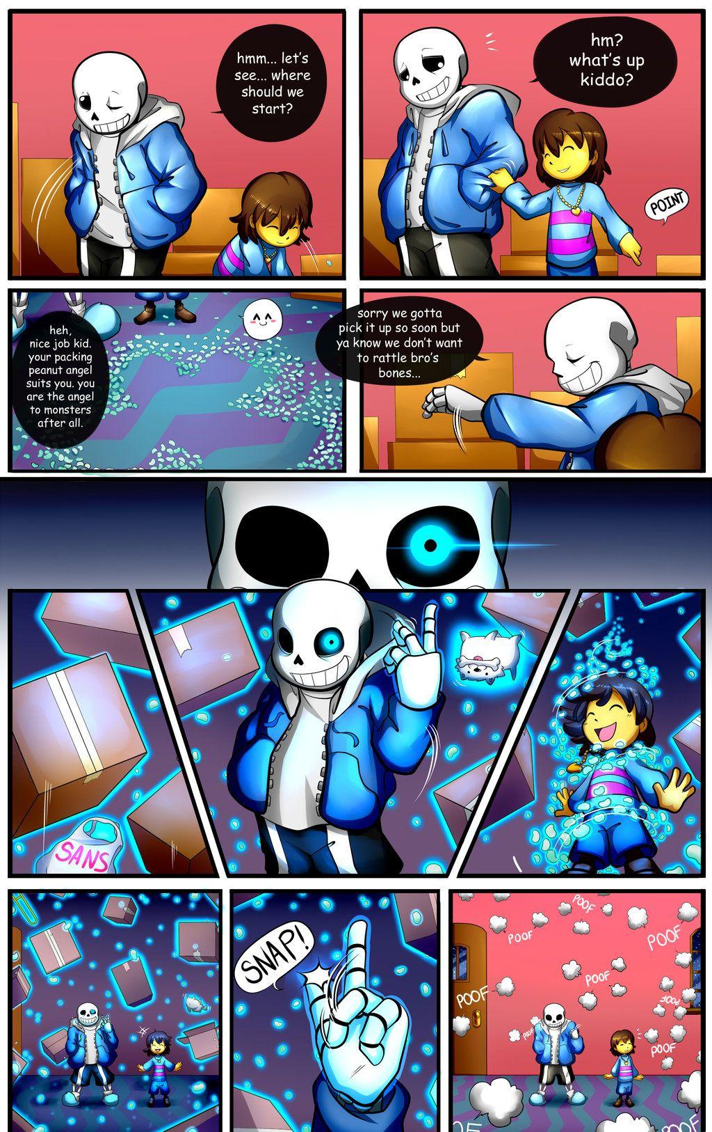 Undertale Fan Comic Pg. 2 by Smudgeandfrank.deviantart.com on @DeviantArt