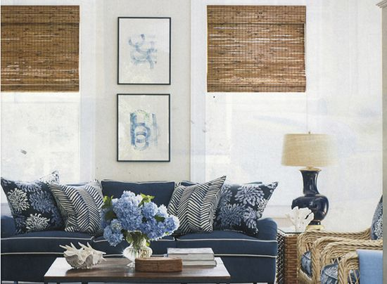 Lynn Morgan Design White Family Rooms Coastal Living Rooms