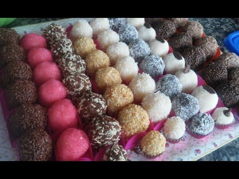 Curso 100 Gratis Brigadeiros Gourmet Parte 1 Youtube Com