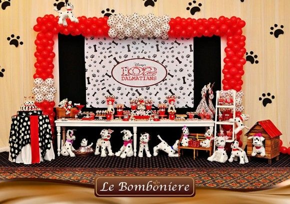 102 Dalmatians Party Theme Dalmatian Party Dog Birthday Party Disney Theme Party