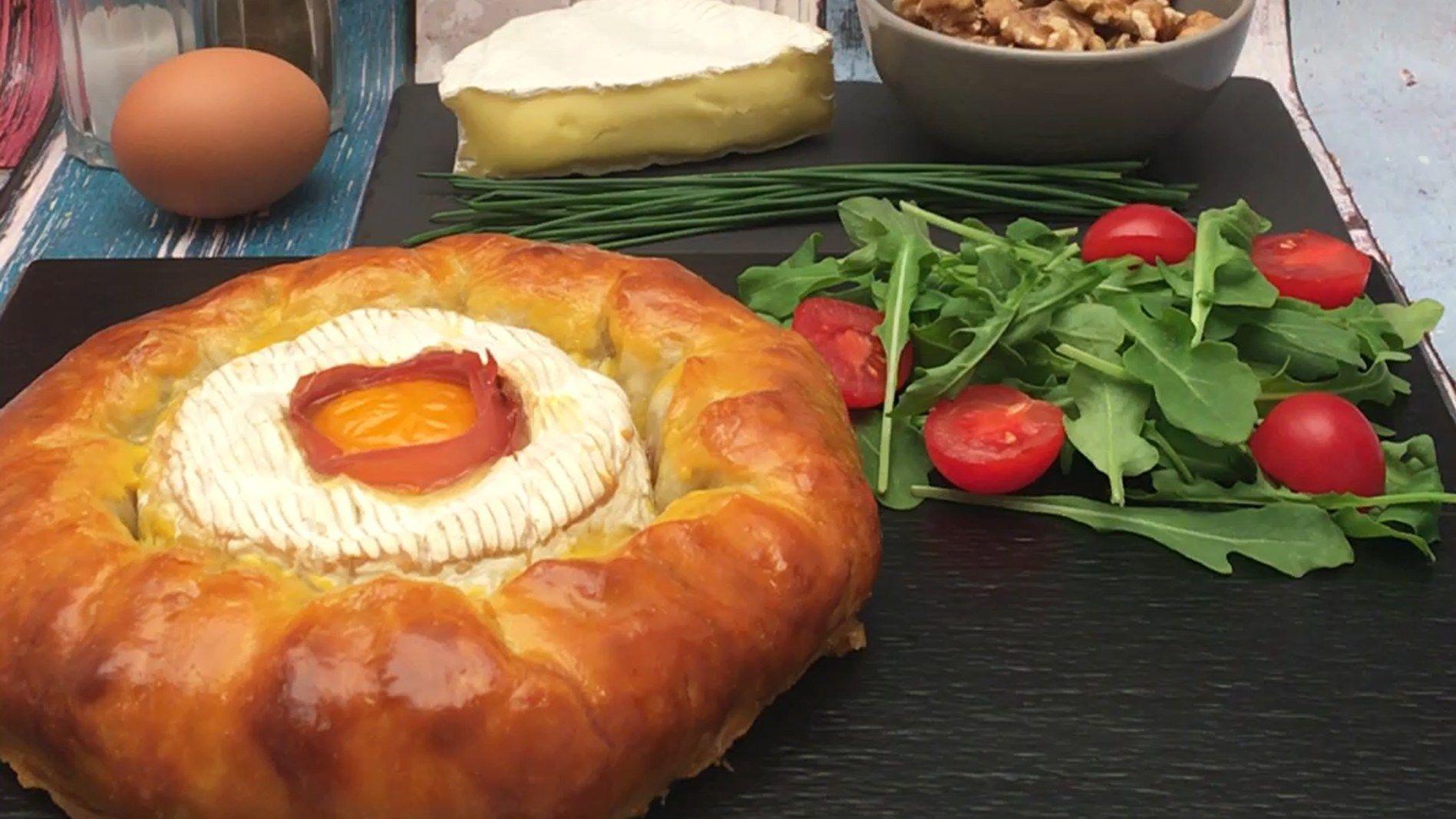 Couronne Camembert La Recette De Recette Camenbert Recette