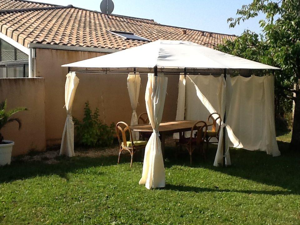 Tonnelle 3x4m Nicae http://www.alicesgarden.fr/equipement-exterieur/tonnelle/tonnelle-nicae