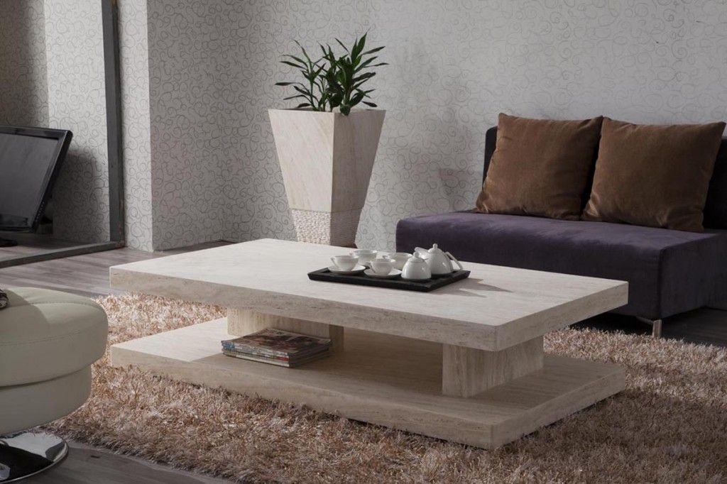 Modern Marble Top Coffee Table Marble Top Tables Pinterest