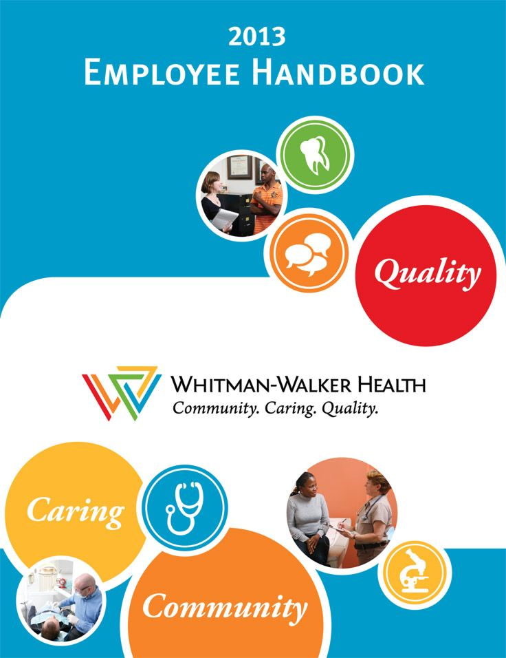 WWH Employee Handbook cover WWH Brand Employee handbook, Cover